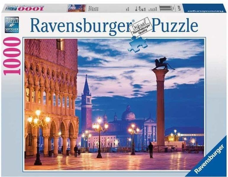 Ravensburger puzzle Benátky 1000 d