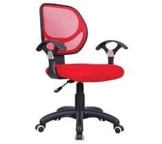 Pisarniški stol OC050, rdeč