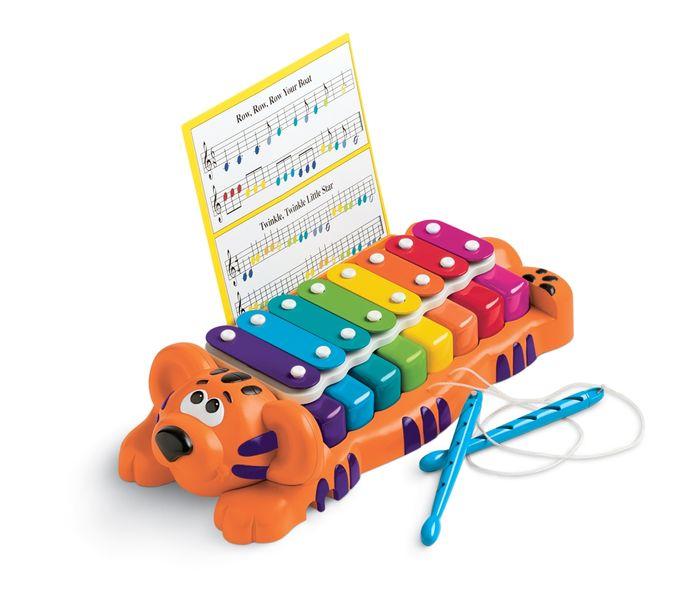 Little Tikes Tygřík klavír a xylofon