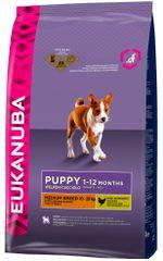 Eukanuba Puppy & Junior Medium Breed 15 kg