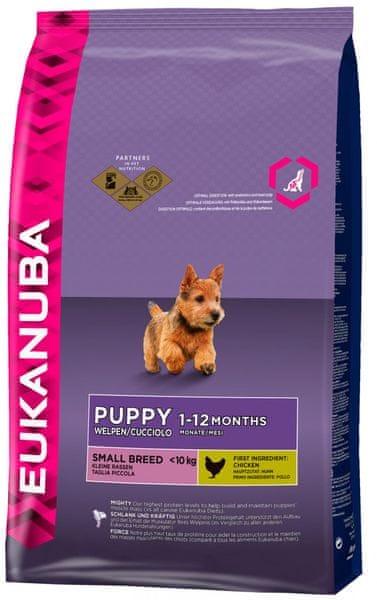 Eukanuba Puppy & Junior Small Breed 7,5 kg