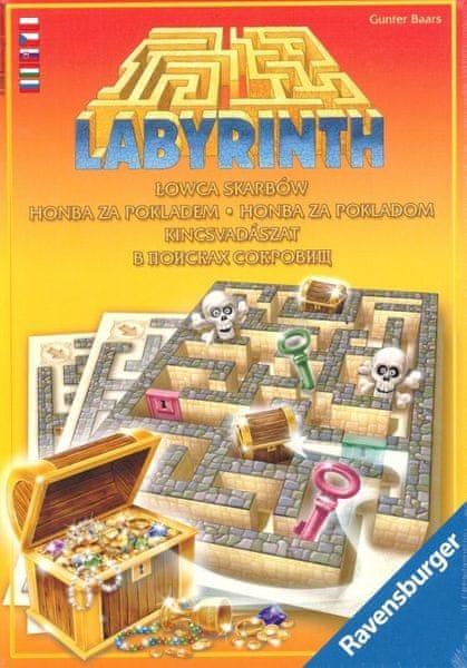 Ravensburger Labyrint Honba za pokladem hra