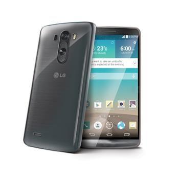 Celly Gelskin silikonový obal LG G3, bezbarvý