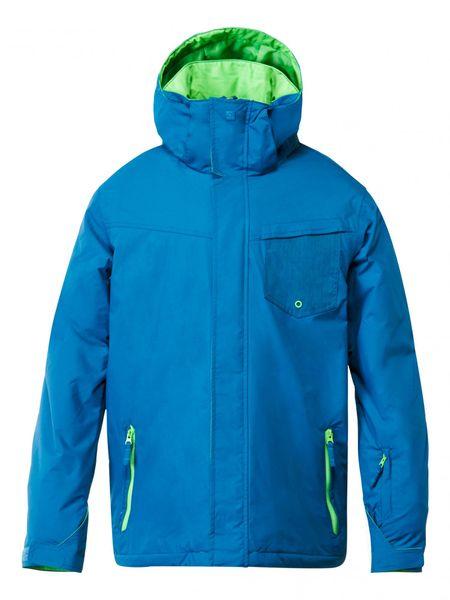 Quiksilver Mission Plain Jacket Moroccan Blue XL