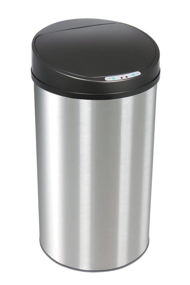 TimeLife Bezdotykový odpadkový koš, 42L