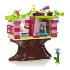 Megabloks Micro - Hello Kitty domek na stromě