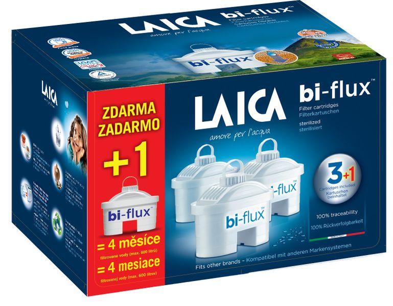 Laica Náhradní filtry Biflux 3+1