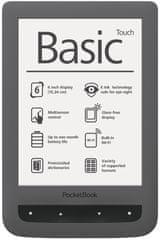 PocketBook Basic Touch (624) šedý