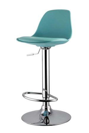 Barski stol DG47, svetlo modra