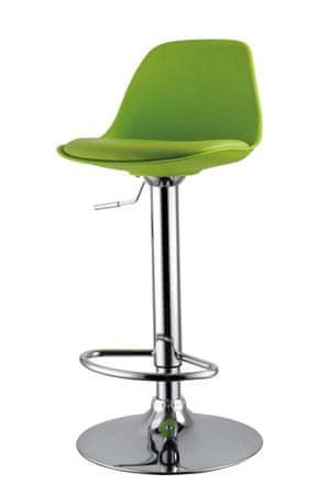 Barski stol DG47 zelena