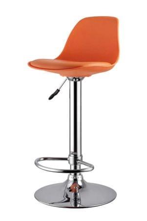 Barski stol DG47 oranžna