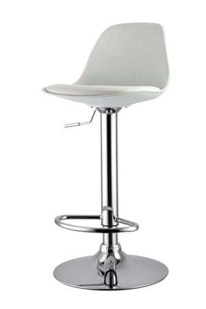 Barski stol DG47 bela