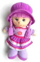 Mac Toys Panenka Anička fialová