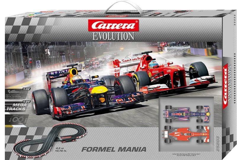 Carrera Autodráha EVO Formel Mania