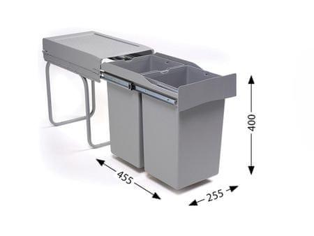 Alveus sistem za ločeno zbiranje odpadkov Albio 20