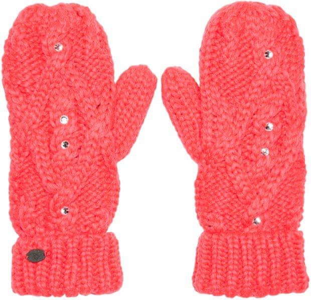 Roxy Shooting Star Mittens Diva Pink