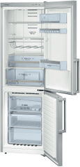 BOSCH KGN36XL32 Kombinált Hűtőszekrény, 320 L, A++