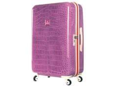 SuitSuit Cestovný kufor TR-1133/2-67 - Purple Crocodile
