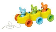 TOMY Syrové autíčko s myškami