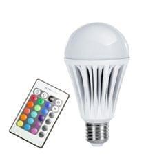 Technaxx Żarówka LED RGB E27, 10W z pilotem