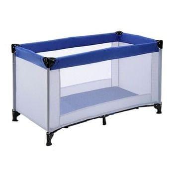 BC Home prenosna postelja 4002, sivo-modra