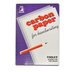 Papír uhlový Concorde 100 listů, fialový