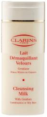 Clarins mleczko z Gentianą do demakijażu cery mieszanej i tłustej - 200 ml