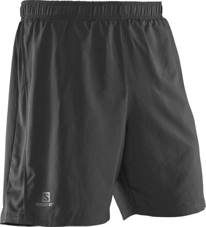 Salomon kratke hlače Park 2in1, moške, črne, XL