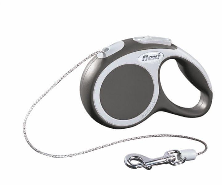 Flexi vodítko Vario XS lanko 3 m/8 kg antracitové