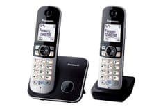 Panasonic brezžični telefon KX-TG6812FXB