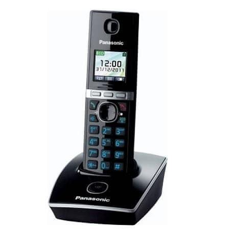 Panasonic brezžični telefon KX-TG8051FXB