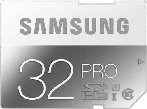 Samsung SDHC 32GB (class 10) PRO 90 MB/s