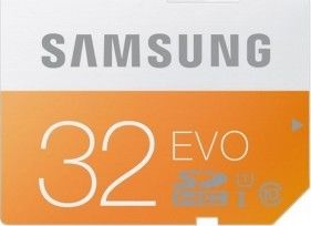 Samsung SDHC 32GB (class 10) EVO 48 MB/s