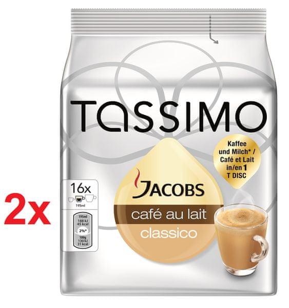 Bosch T-Disc Jacobs Cafe au Lait - 2x