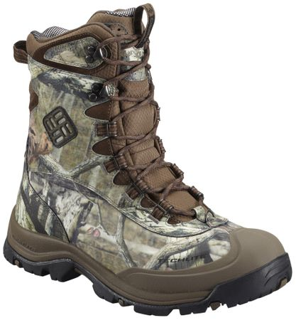 Columbia Bugaboot Plus II Omni-Heat Camo Mossy Oak Camo Brown 8 32d3d28947
