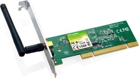 TP-Link Brezžična PCI mrežna kartica TP-Link TL-WN751ND
