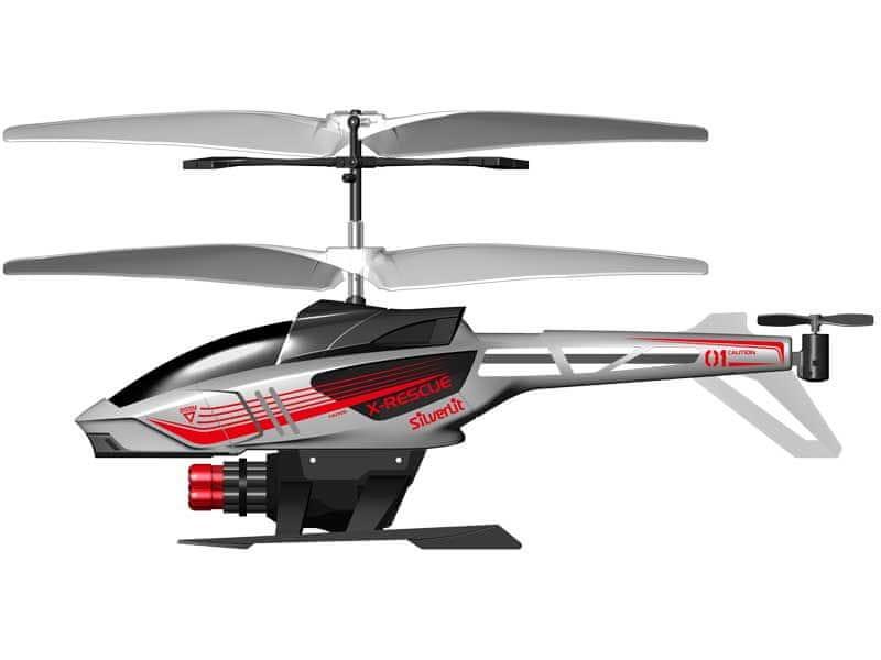 Silverlit R/C helikoptéra Heli Sniper (střílí šipky) šedá