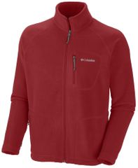 Columbia majica z zadrgo Fast Trek II Full Zip Fleece, moška