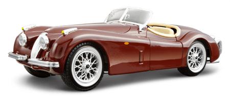 BBurago Jaguar XK 120 Roadster 1951 (1:24)