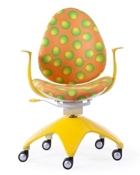 Dětská židle Baby žlutá
