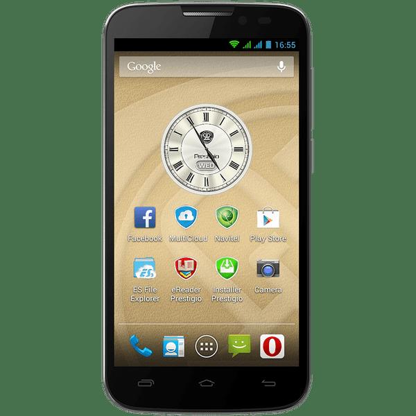 Prestigio MultiPhone 5503 DUO, šedý - II. jakost