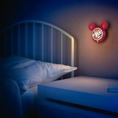 Philips 71766/31/16 noční lampička na baterie Minnie Mouse, LED, senzor