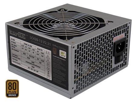 LC Power napajalnik Office LC420-12 V2.31, ATX 350 W, 80 Plus Bronze