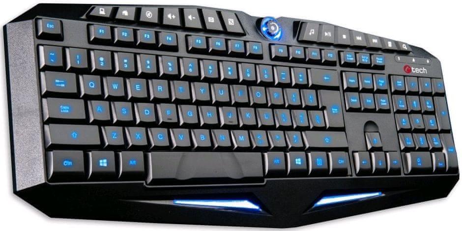 C-Tech Moirai, černá (GKB-12-BL)
