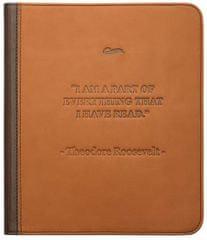PocketBook ovitek za 840, rjav - odprta embalaža