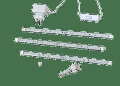 Dencop Lighting LED pásik pevný, set 3 x 306 mm