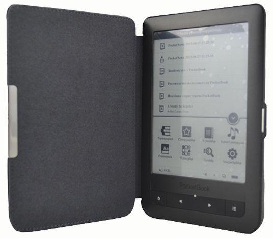 C-Tech pouzdro pro Pocketbook 624/626, hardcover, PBC-03, černé