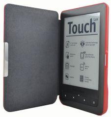 C-Tech pouzdro pro Pocketbook 624/626, hardcover, PBC-03, červené