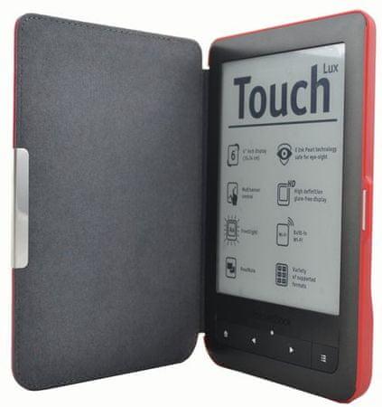 C-Tech Pocketbook 624/626 Tok, PBC-03, Piros