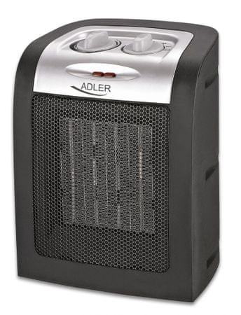 Adler keramični grelnik 1500W, črn (AD7702)